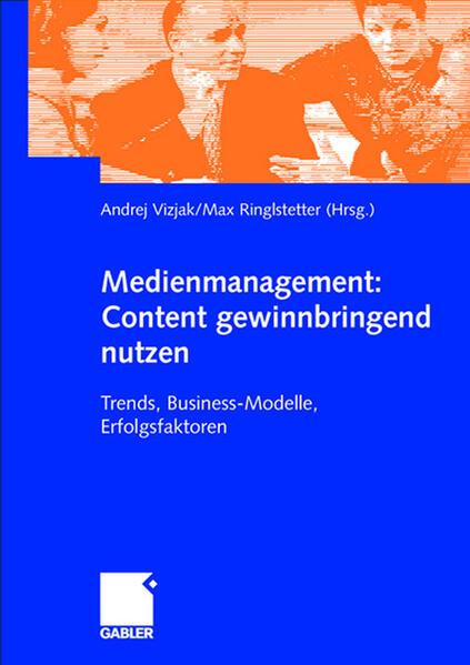 Medienmanagement: Content gewinnbringend nutzen - Coverbild