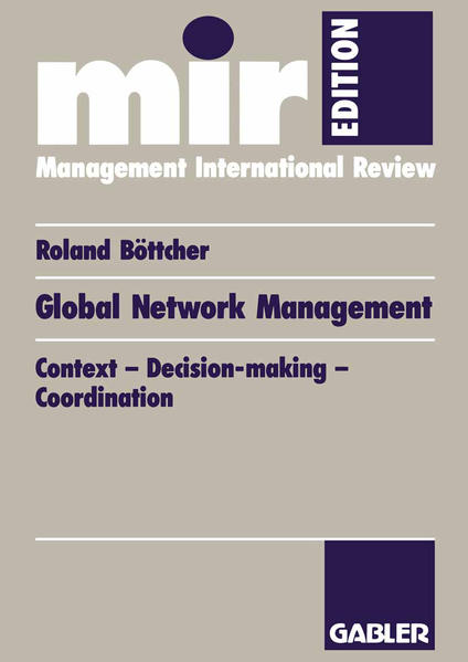 Global Network Management - Coverbild