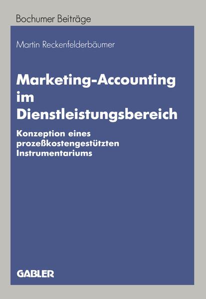 Marketing-Accounting im Dienstleistungsbereich - Coverbild