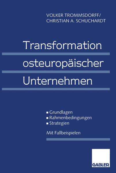 Transformation osteuropäischer Unternehmen - Coverbild