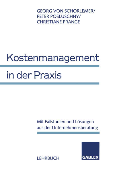 Kostenmanagement in der Praxis - Coverbild