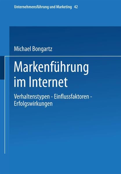 Markenführung im Internet - Coverbild