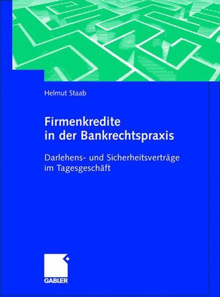Firmenkredite in der Bankrechtspraxis - Coverbild