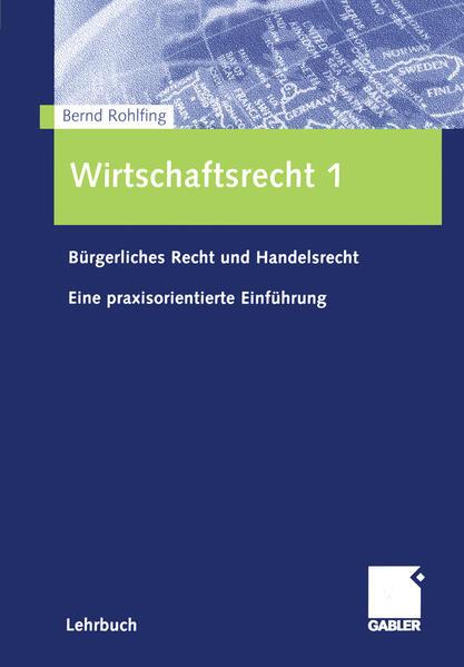 Wirtschaftsrecht 1 - Coverbild