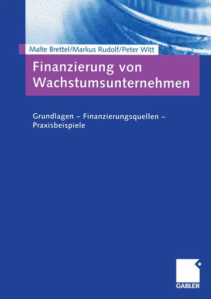 Finanzierung von Wachstumsunternehmen - Coverbild