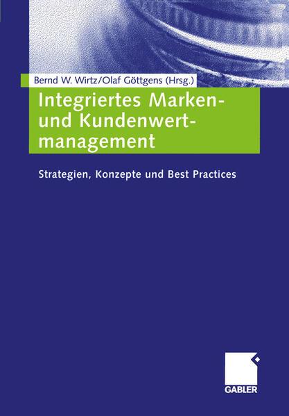 Integriertes Marken- und Kundenwertmanagement - Coverbild