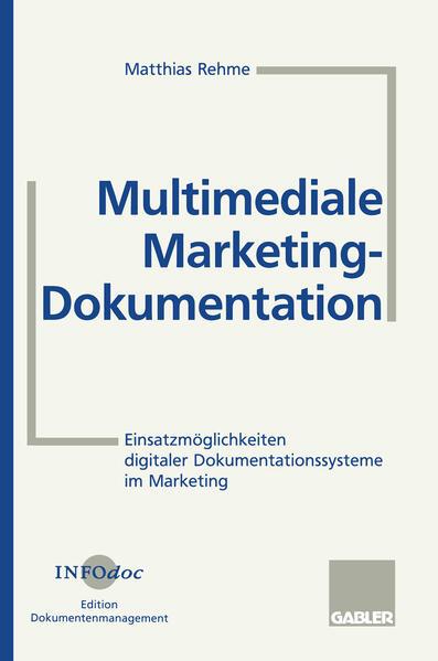 Multimediale Marketing-Dokumentation - Coverbild