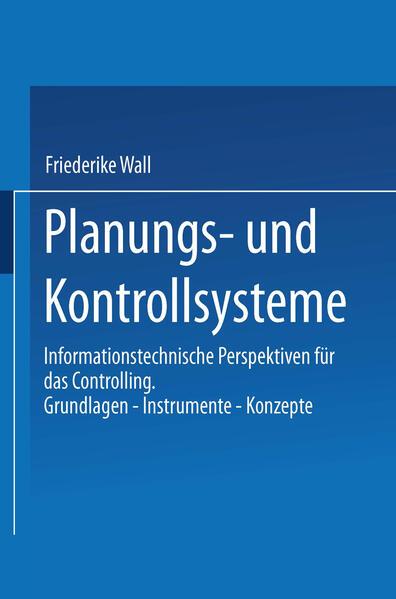 Planungs- und Kontrollsysteme - Coverbild