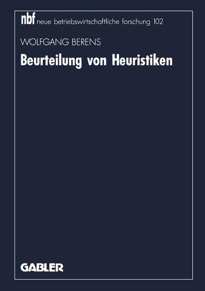 Beurteilung von Heuristiken - Coverbild