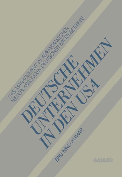 Deutsche Unternehmen in den USA - Coverbild