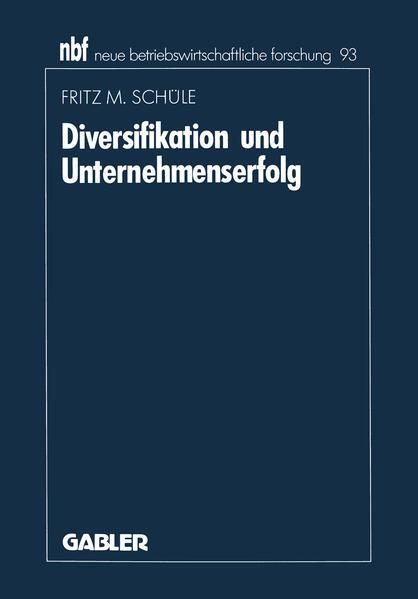 Diversifikation und Unternehmenserfolg - Coverbild