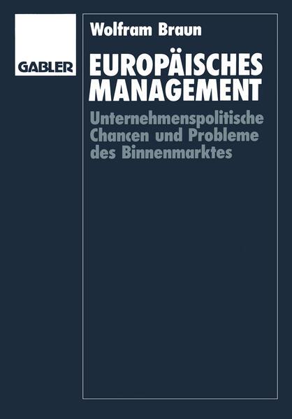 Europäisches Management - Coverbild