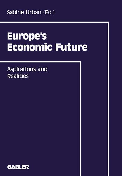 Europe's Economic Future - Coverbild