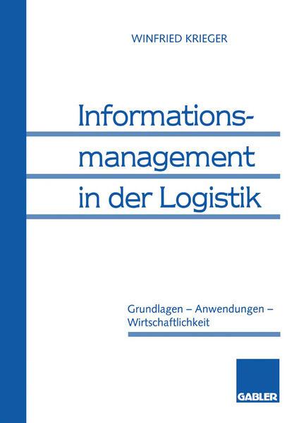 Informationsmanagement in der Logistik - Coverbild