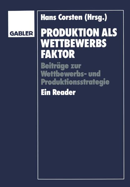 Produktion als Wettbewerbsfaktor - Coverbild