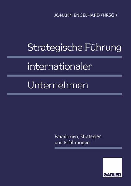 Strategische Führung internationaler Unternehmen - Coverbild