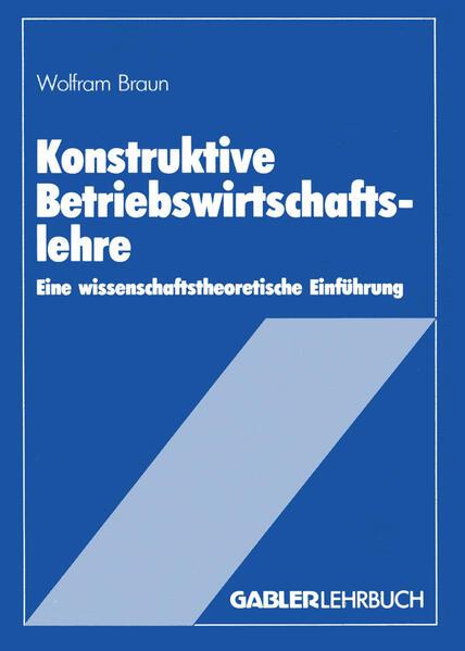 Konstruktive Betriebswirtschaftslehre - Coverbild