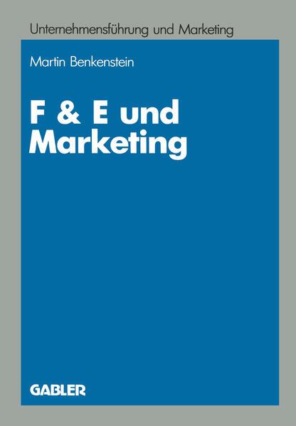 F & E und Marketing - Coverbild