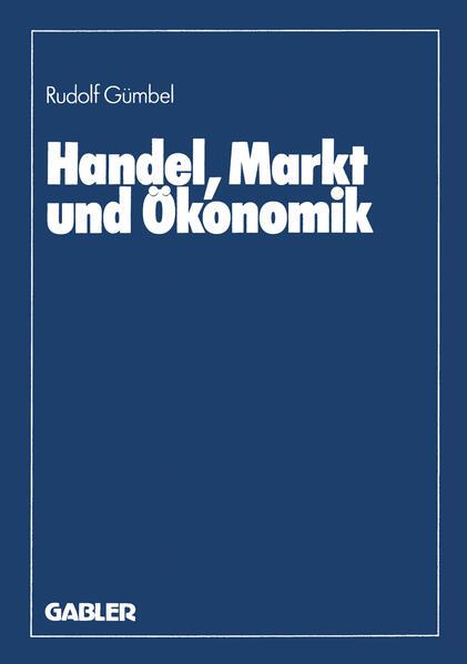 Handel, Markt und Ökonomik - Coverbild