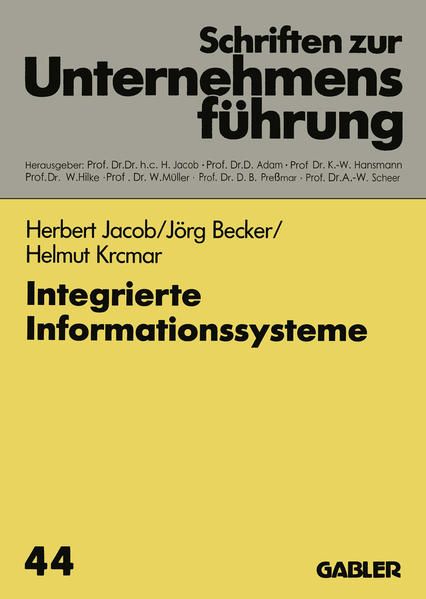 Integrierte Informationssysteme - Coverbild