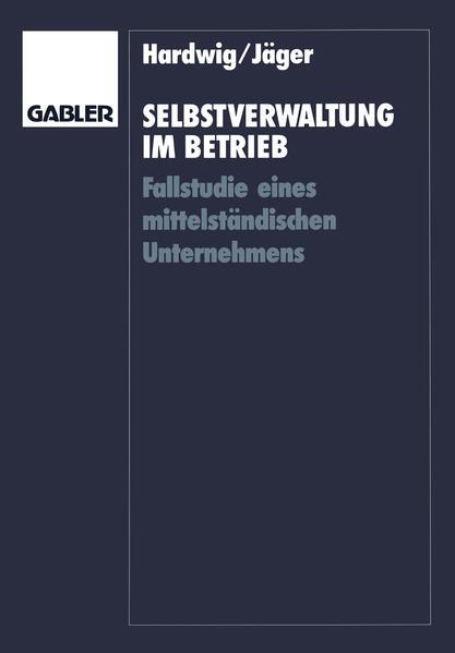 Selbstverwaltung im Betrieb - Coverbild