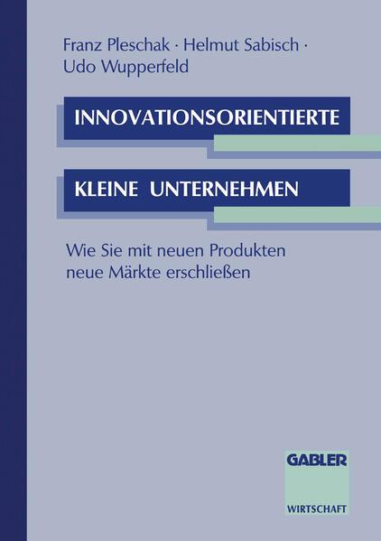 Innovationsorientierte kleine Unternehmen - Coverbild