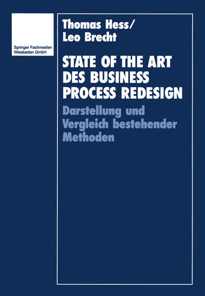State of the Art des Business Process Redesign - Coverbild