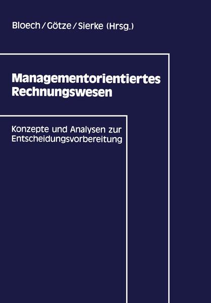 Managementorientiertes Rechnungswesen - Coverbild