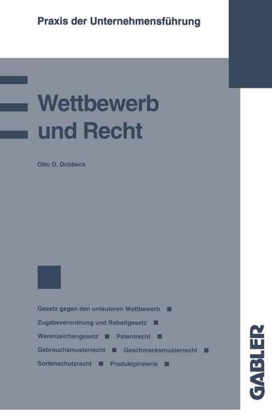 Wettbewerb und Recht - Coverbild