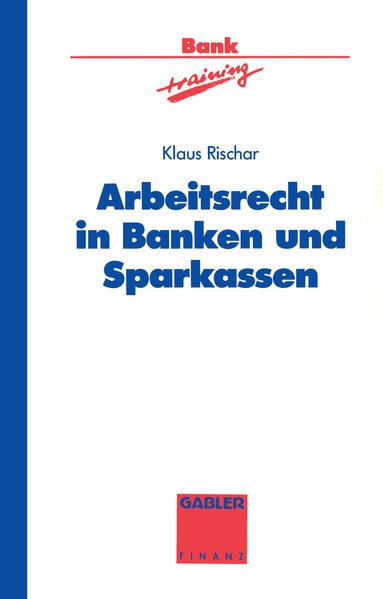 Arbeitsrecht in Banken und Sparkassen - Coverbild
