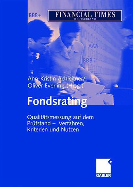 Fondsrating - Coverbild