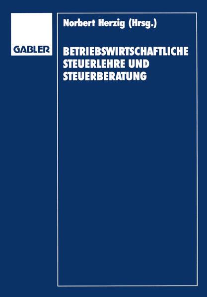Betriebswirtschaftliche Steuerlehre und Steuerberatung - Coverbild