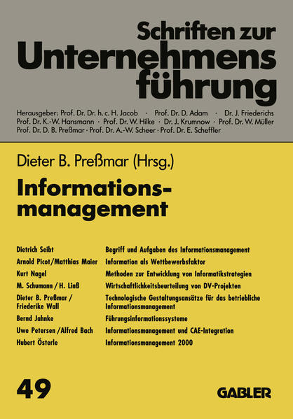 Informationsmanagement - Coverbild