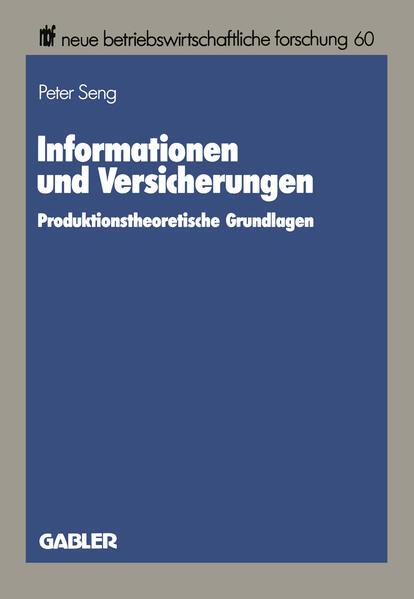 Informationen und Versicherungen - Coverbild