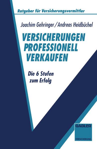 Versicherungen professionell verkaufen - Coverbild