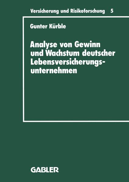 Analyse von Gewinn und Wachstum deutscher Lebensversicherungsunternehmen - Coverbild