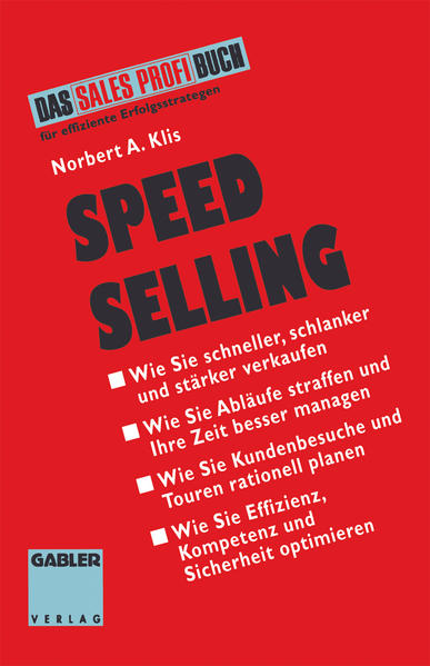 Speed Selling - Coverbild