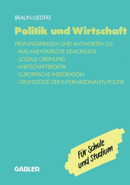 Politik und Wirtschaft - Coverbild