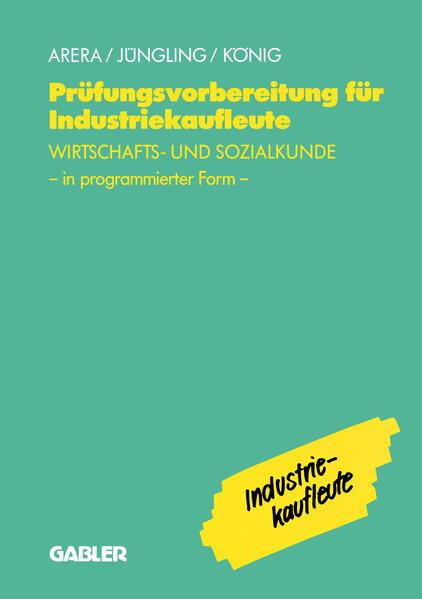 Prüfungsvorbereitung für Industriekaufleute - Coverbild