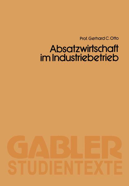 Absatzwirtschaft im Industriebetrieb - Coverbild