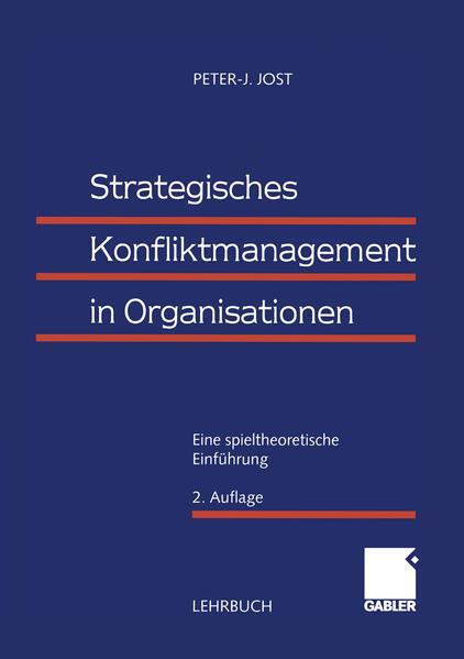 Strategisches Konfliktmanagement in Organisationen - Coverbild