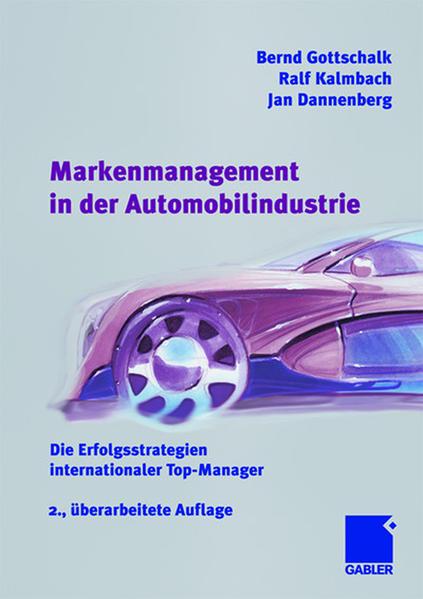 Markenmanagement in der Automobilindustrie - Coverbild