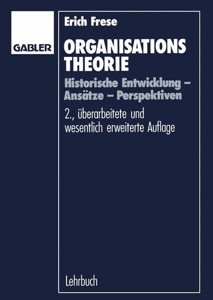 Organisationstheorie - Coverbild