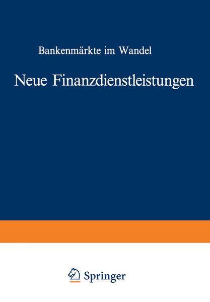 Neue Finanzdienstleistungen - Coverbild