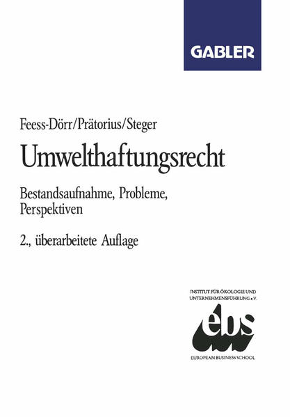 Umwelthaftungsrecht - Coverbild