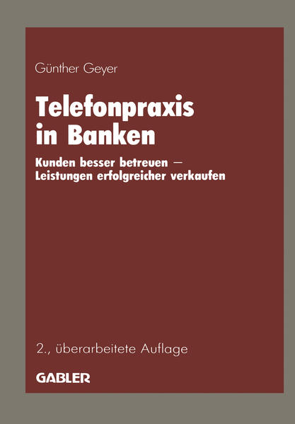Telefonpraxis in Banken - Coverbild