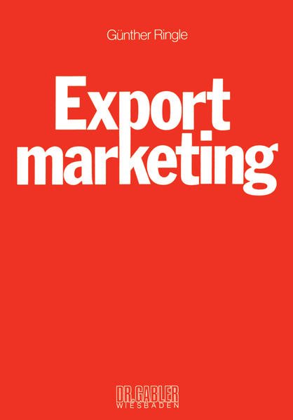 Exportmarketing - Coverbild