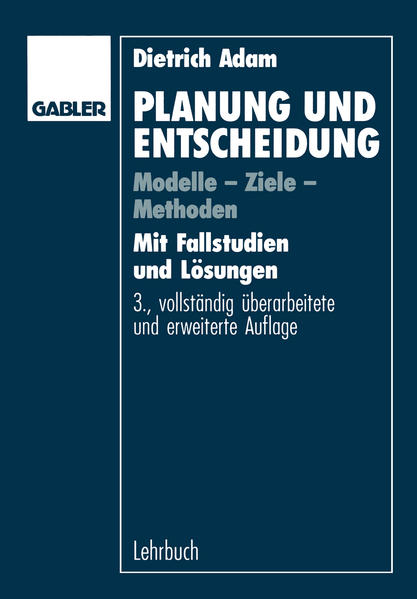 Planung und Entscheidung - Coverbild