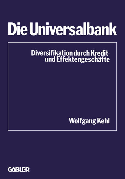 Die Universalbank - Coverbild