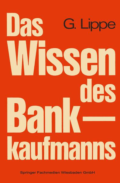 Das Wissen des Bankkaufmanns - Coverbild